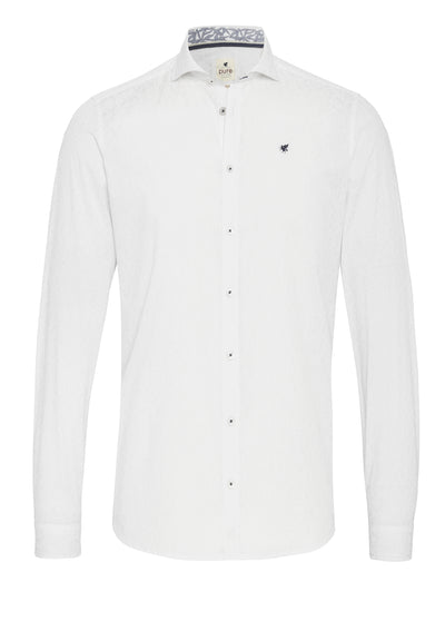 C91539-21719 - Casual Hemd Slim Fit - weiß - pureshirt