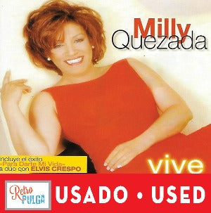 MILLY QUEZADA - Vive* (cd usado)