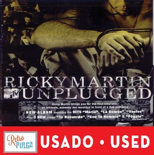RICKY MARTIN - Unplugged* (cd usado)