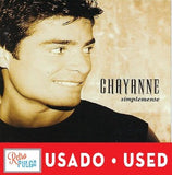 CHAYANNE -  Simplemente* (cd usado)