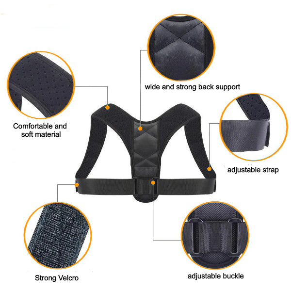 Posture corrector - Material and features
