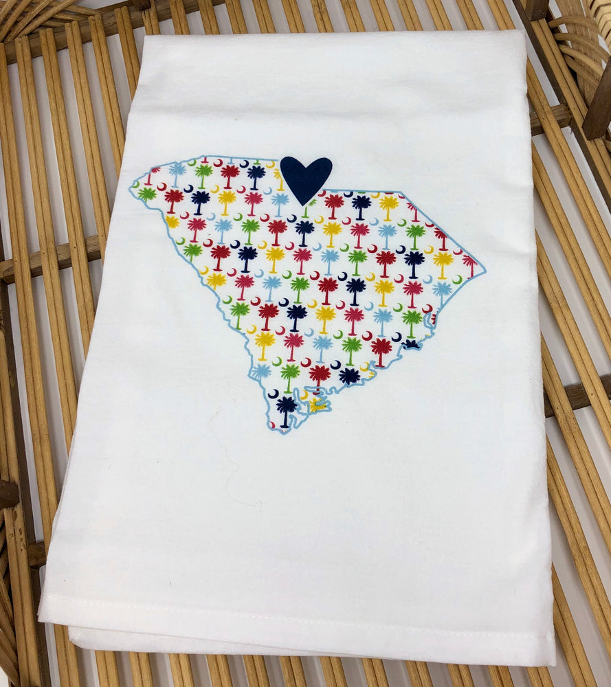 "South Carolina ""Love Where You Live"" Handtowel"