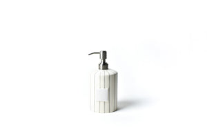 Load image into Gallery viewer, Stone Skinny Stripe Mini Cylinder Soap Pump