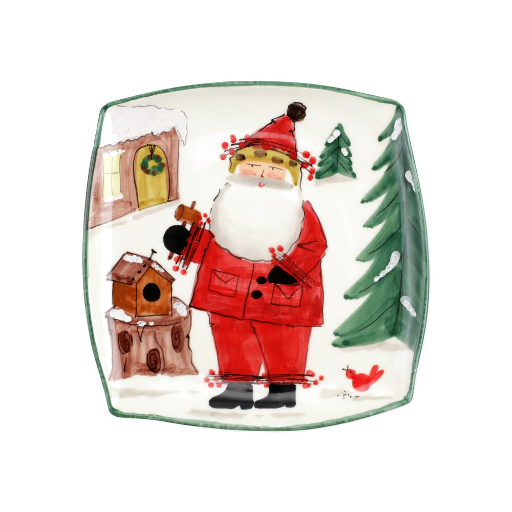 OLD ST. NICK 2020 LIMITED EDITION SQUARE PLATTER