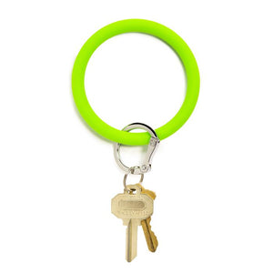 Big-O Silicone Key Ring - Brights