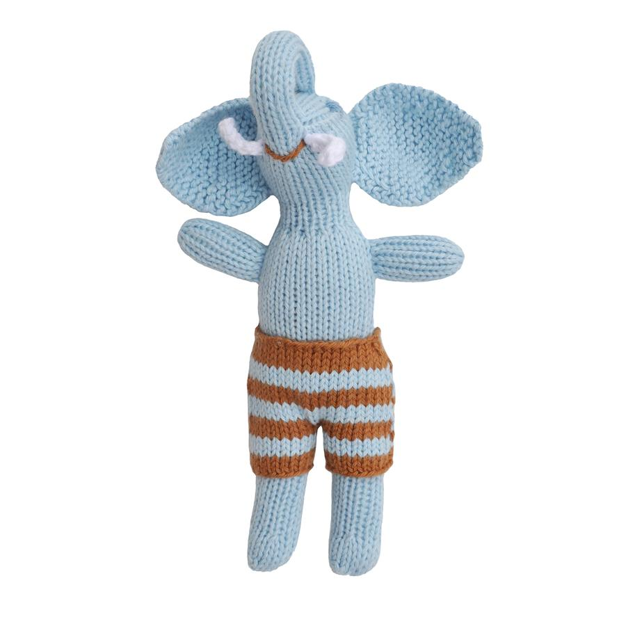 Load image into Gallery viewer, Elephant Baby Rattle