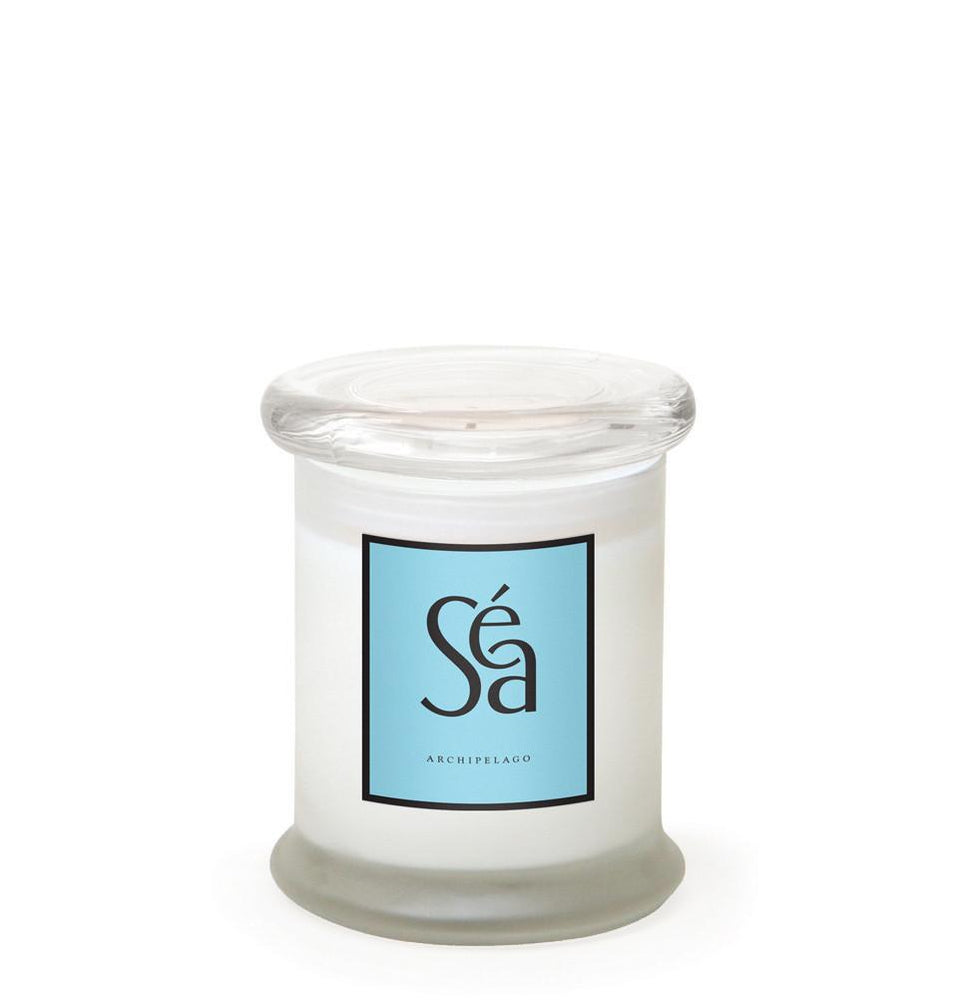 Archipelago Frosted Jar Candle - Sea