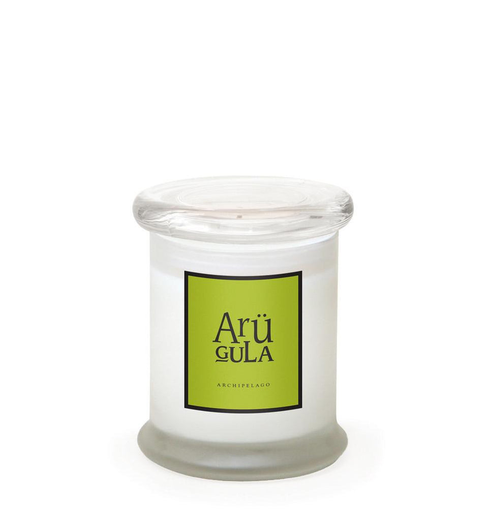 Load image into Gallery viewer, Archipelago Frosted Jar Candle - Arugula