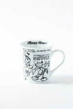 Mickey Sketchbook Mug, S/4