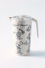 Disney Sketchbook Bamboo Assorted Characters Pitcher