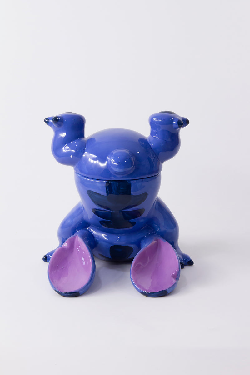 Handstand Stitch Cookie Jar