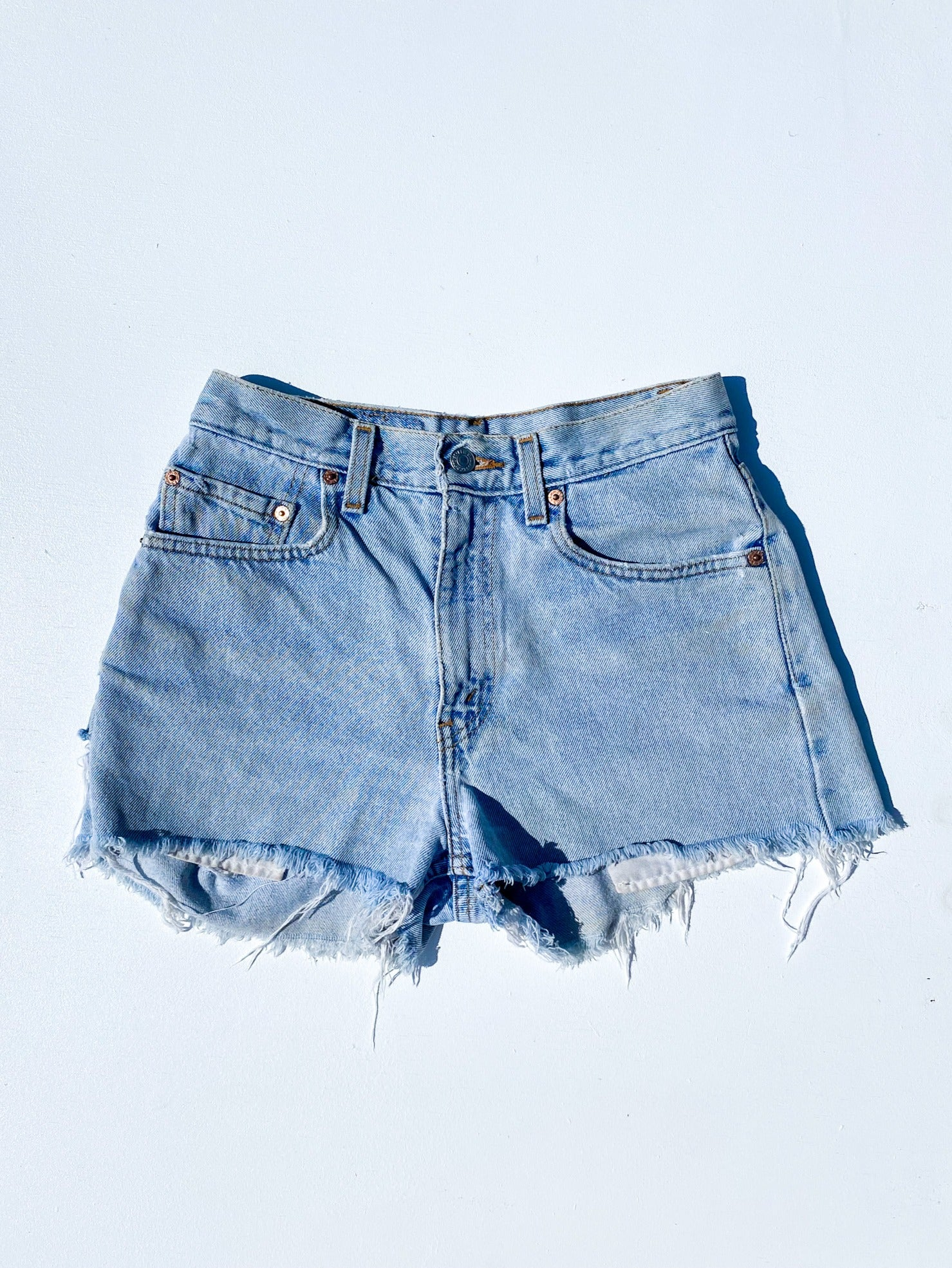 HIGH WAISTED LEVI'S SHORTS (24)