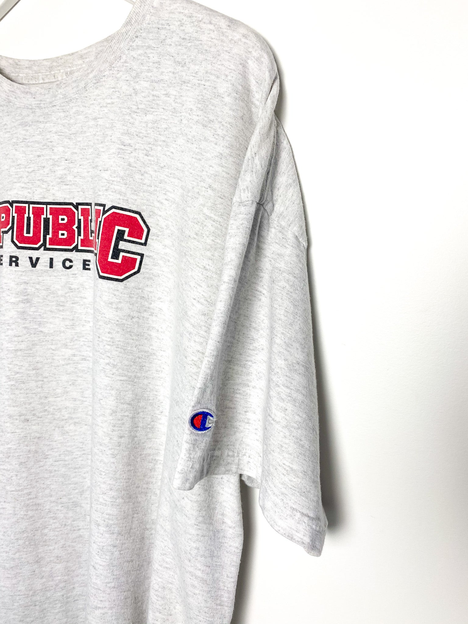 CHAMPION REPUBLIC SERVICES T-SHIRT (2XL)