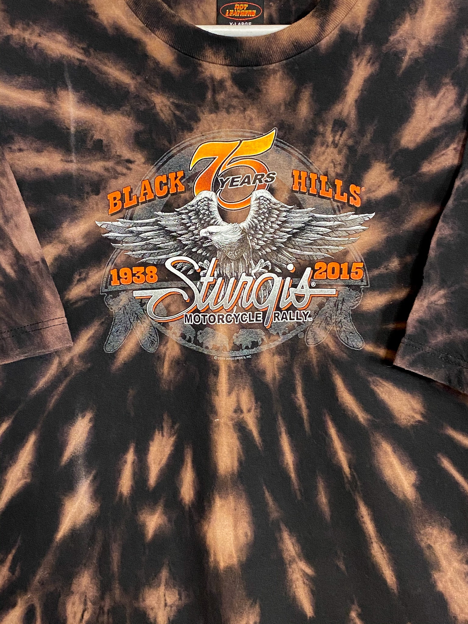STURGIS MOTORCYCLE RALLY TEE (XL)