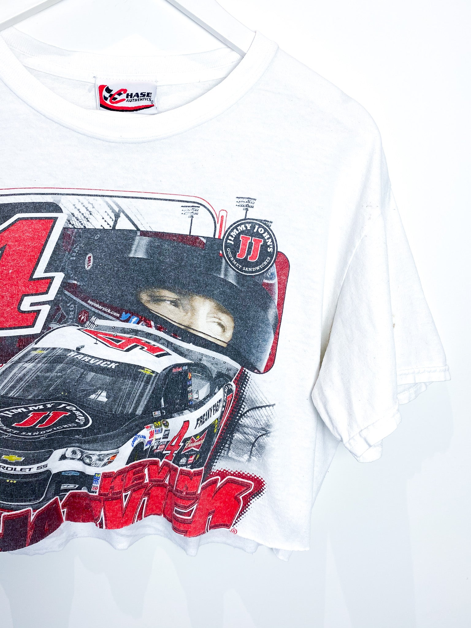 NASCAR KEVIN HARVICK CROPPED TEE (L)
