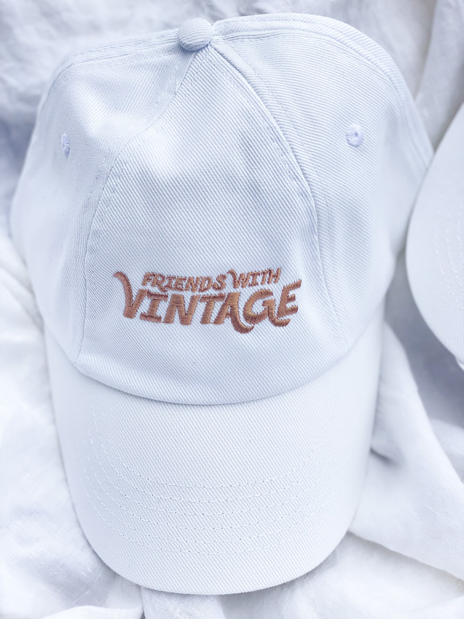 Embroidered Poolside Cap