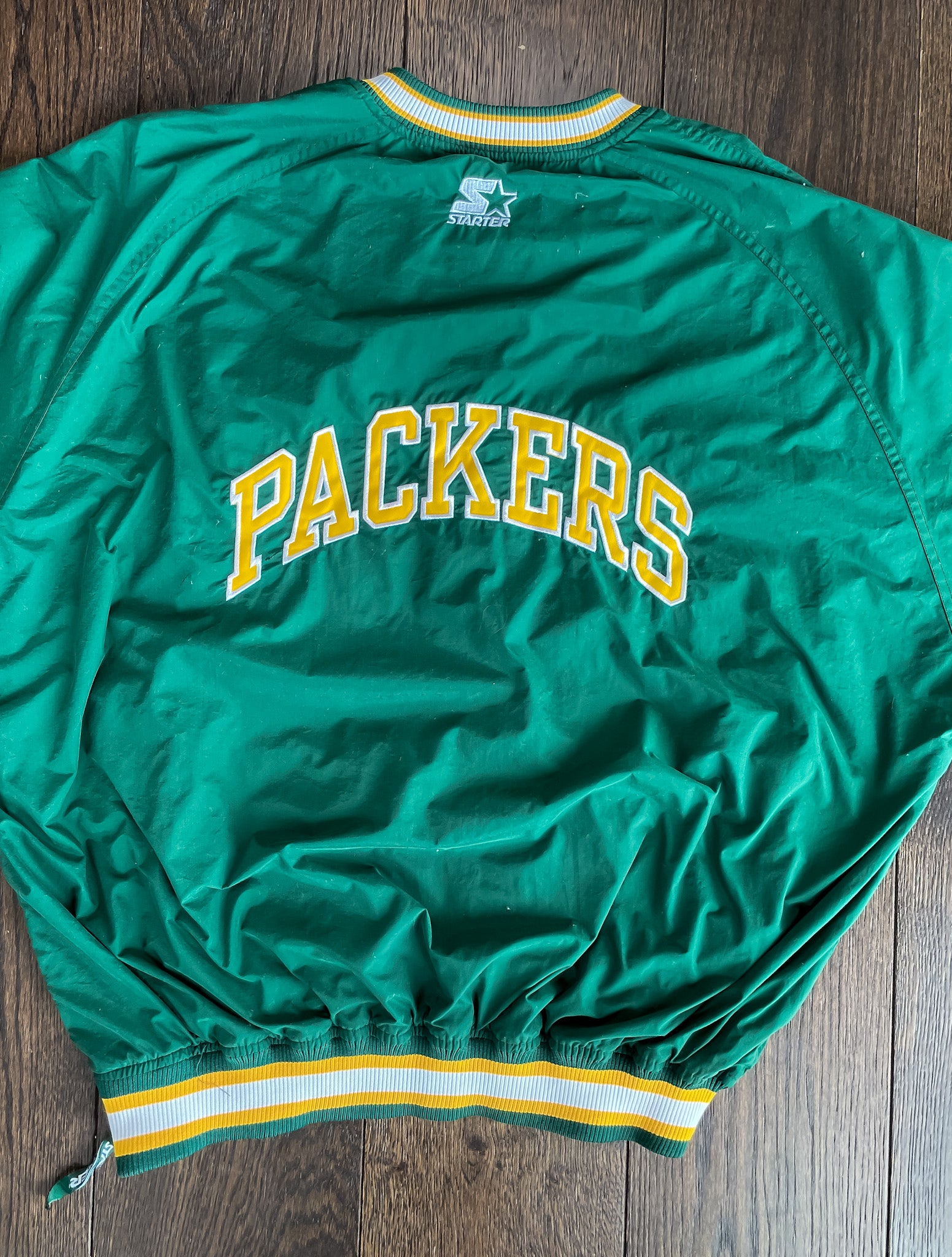 GREEN BAY PACKERS STARTER JACKET (XXL)