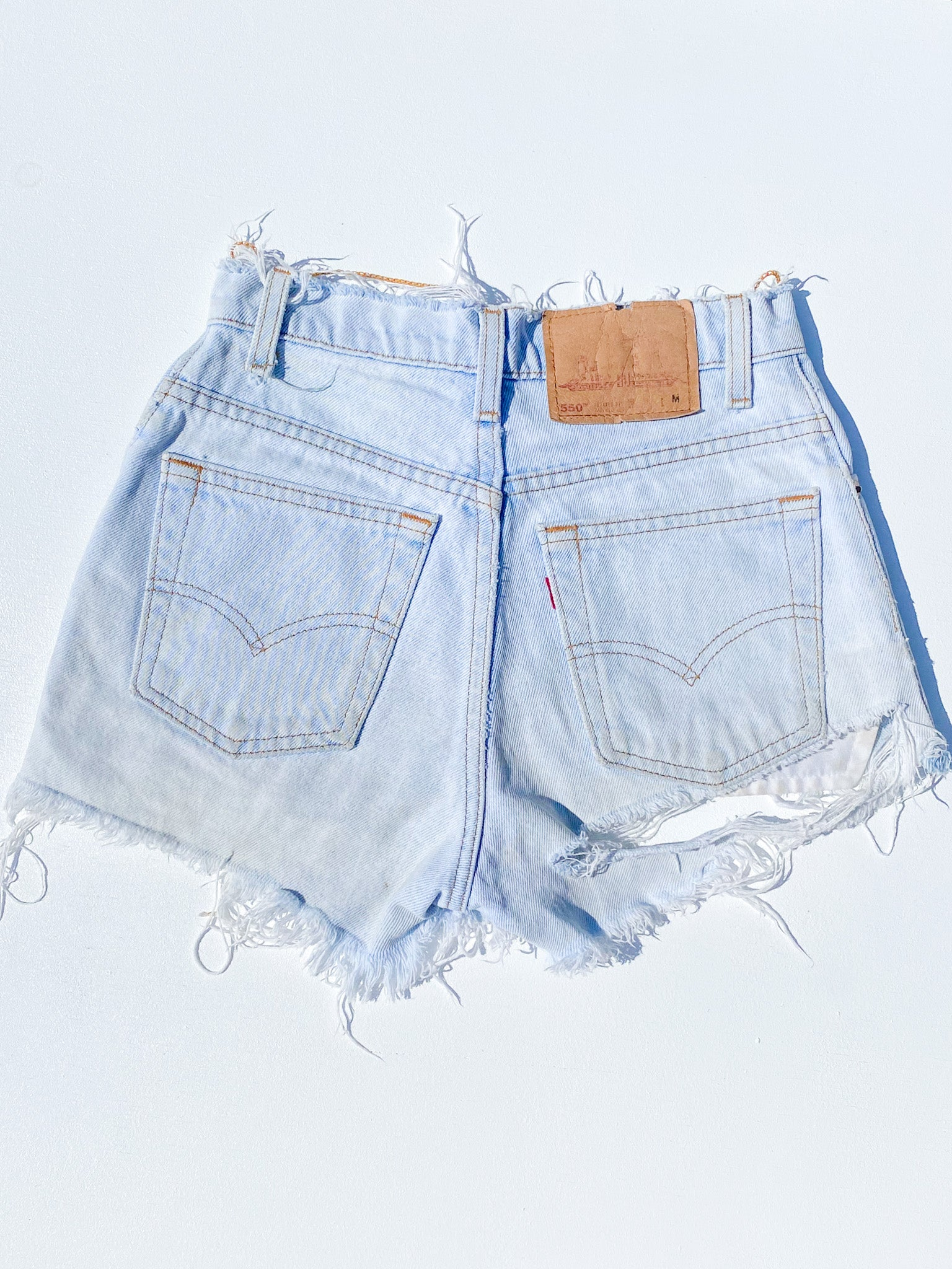 LEVI'S HIGH WAISTED SHORTS (24)
