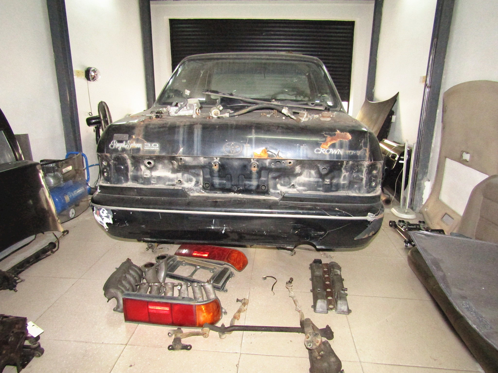 1991 Toyota Crown Royal Saloon Sedan 3.0L 2JZ-GE A/T - Project Picture Gallery