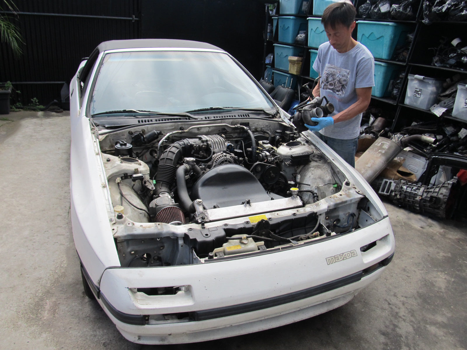 88 RX7 Convertible 13B 5spd N/A - AP1 Project