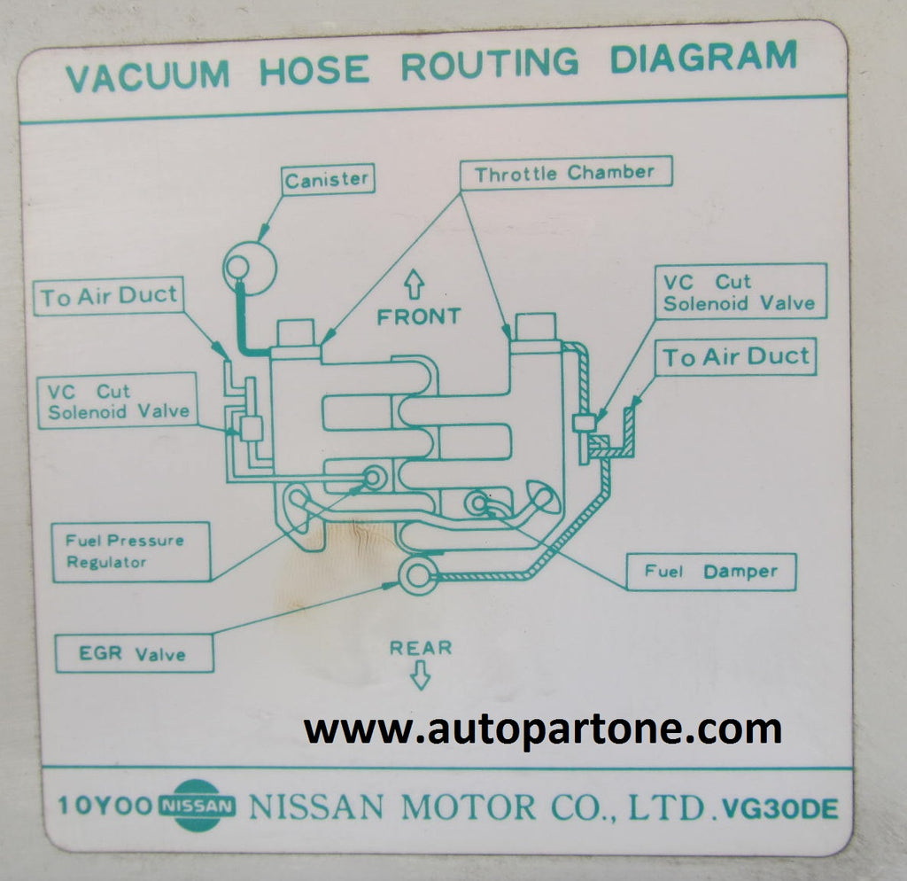 93 Nissan 300zx N A 5spd Diagrams Fuel Pressure Diagram These Are For Reference Only