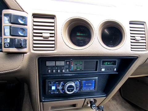 1987-1989 Nissan 300zx Climate Control & Stereo Bracket