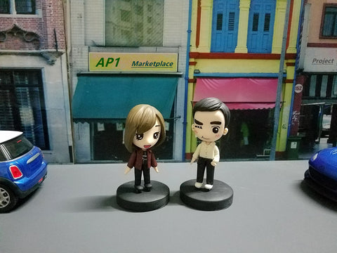 Yoyiz & MC Character Cartoon Model Figures