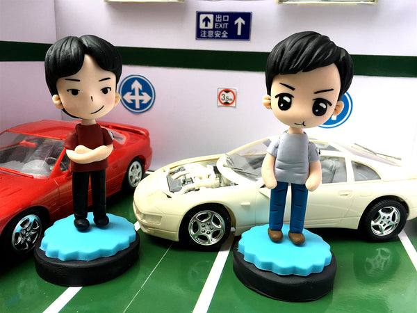 AP1 Character Cartoon Model Figures CK 3000GT VS MC 300ZX