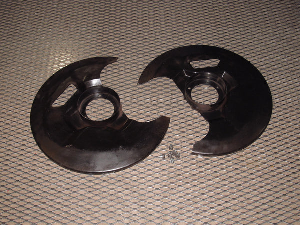 87 88 89 Nissan 300zx Oem Front Spindle Brake Dust Shield