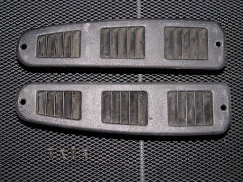 91-93 Dodge Stealth OEM Black Door Louver Vent - Left & Right