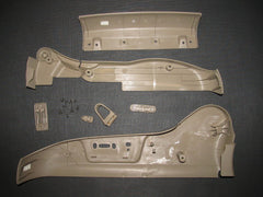 01 02 03 Acura CL OEM Type-S Seat Track Cover Panel - Right Set