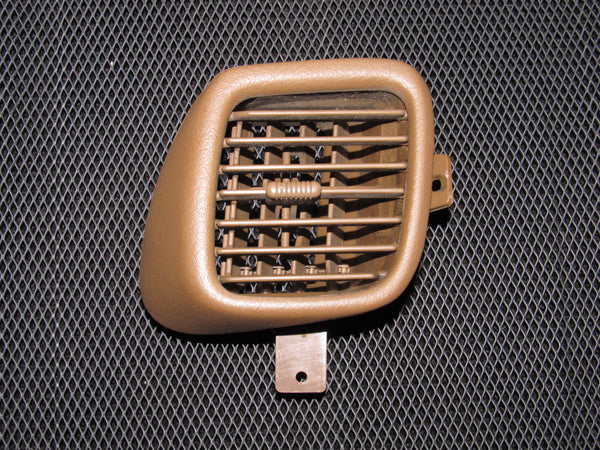 90-96 Nissan 300zx OEM Brown Dash Heater AC Louver - Driver Side - Left