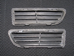 90-93 Acura Integra OEM Black Trunk Cover Vent - 2 pieces
