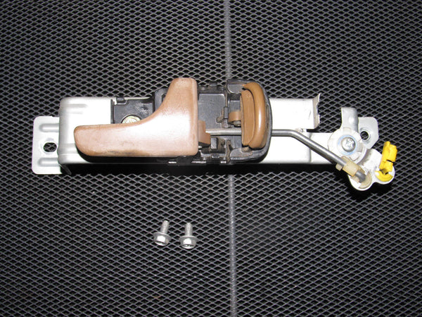 90-96 Nissan 300zx OEM Brown Interior Door Handle - Passenger Side - Right
