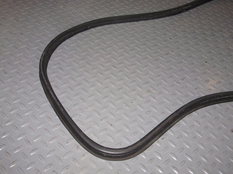 86 87 88 Mazda RX7 Convertible OEM Trunk Rubber Weather Stripping Seal
