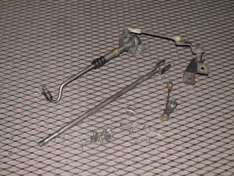 79 80 Datsun 280zx L28E OEM Throttle Body Bell Crank Linkage Rod