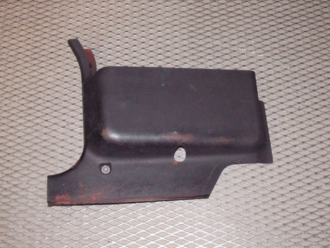 79 80 Datsun 280zx L28E OEM Kick Panel Cover - Left