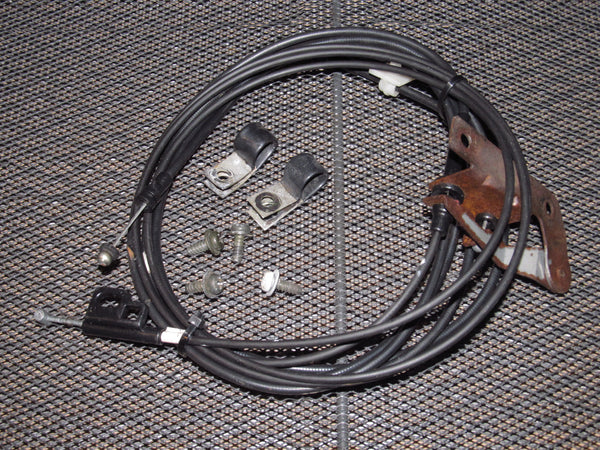 87 88 89 Nissan 300zx OEM Rear Trunk Hatch & Gas Door Release Cable