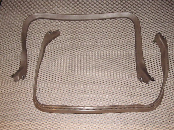 87 88 89 Nissan 300zx OEM Interior T-Top T Roof Top Mounding Stripping