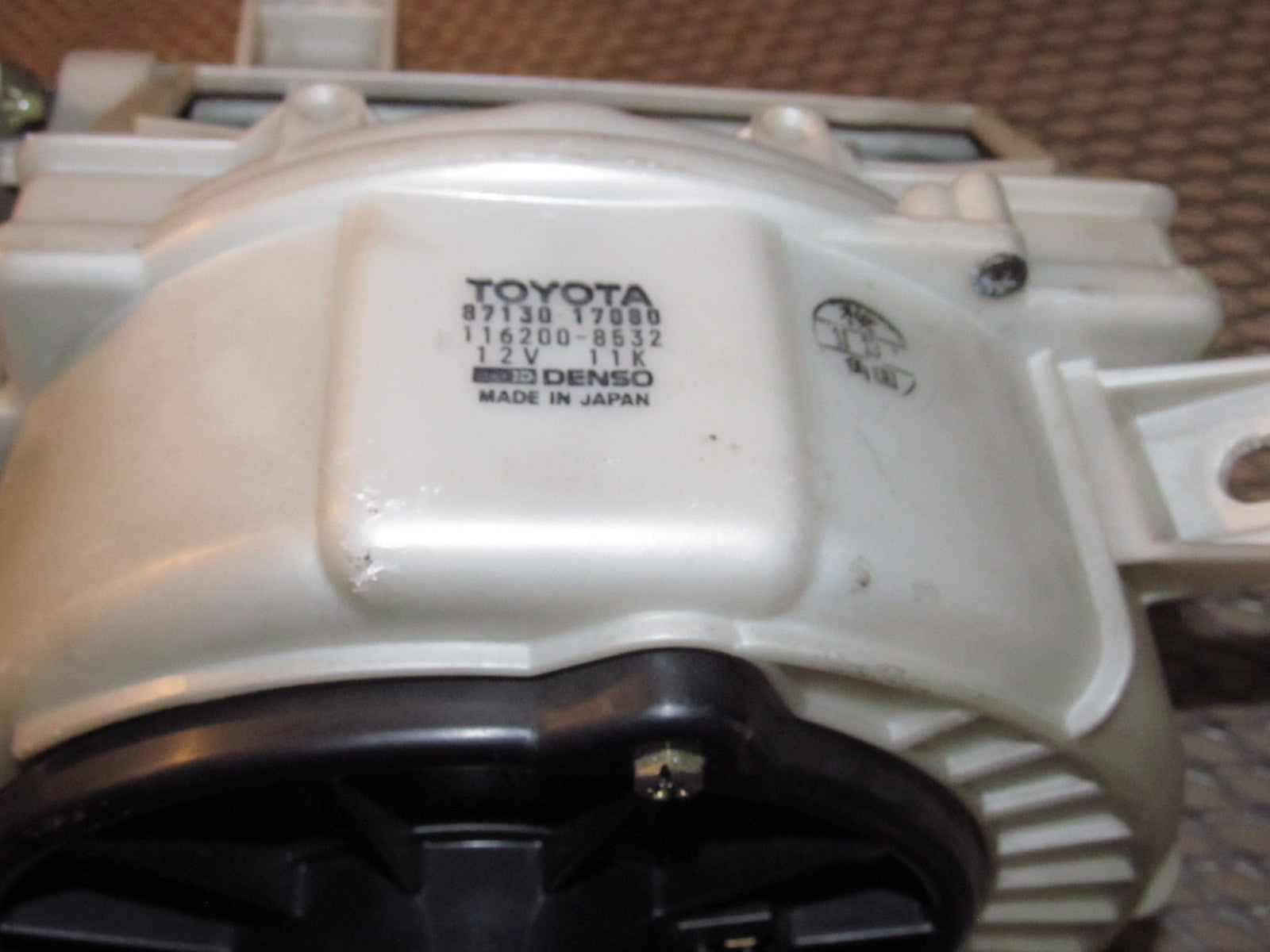 91 92 93 94 95 Toyota Mr2 Oem A C Heater Blower Motor Assembly 1993 Engine Diagram