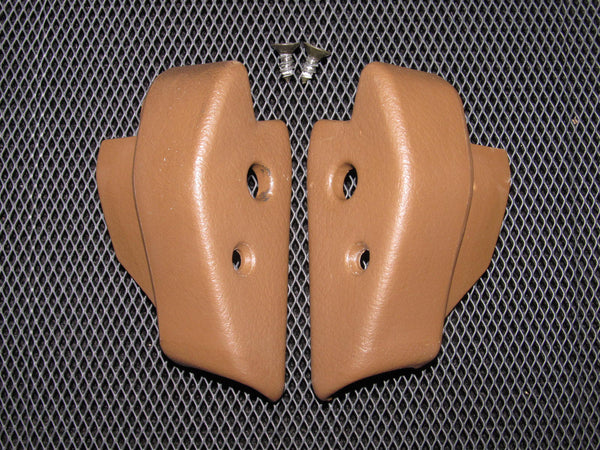 90-96 Nissan 300zx OEM Brown Interior T-Top Cover Trim - 2 pieces