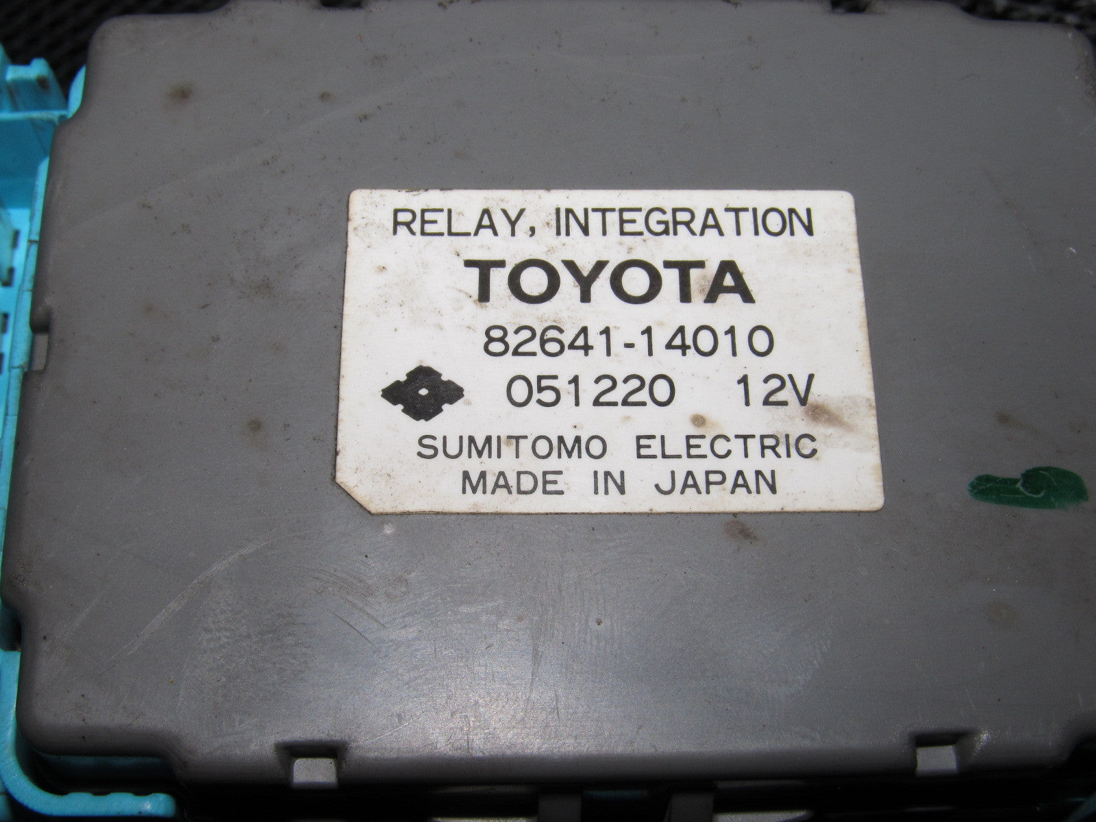 ... 86 87 88 Toyota Supra OEM Turbo Interior Fuse Box