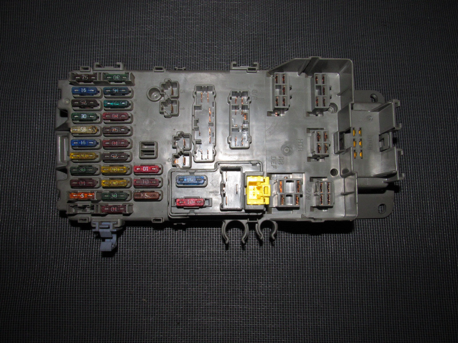 1993 Honda Prelude Fuse Panel Diagram Schematics 94 Civic Box 92 93 95 96 Si H23 Oem Interior