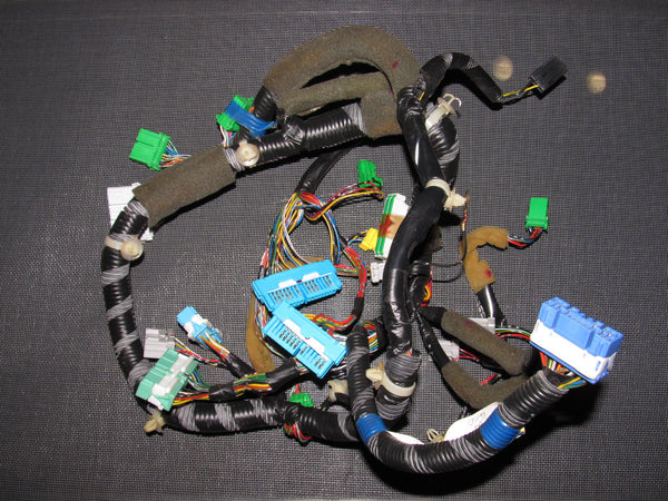96 97 98 Honda Civic OEM D16Y8 Dash Sdometer Wiring Harness D Y Wire Harness Diagram on