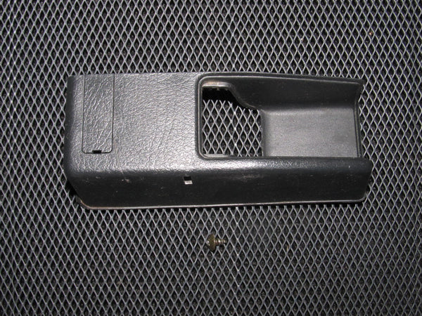 90-93 Acura Integra OEM Black Trunk & Gas Door Release Switch Cover Bezel Trim