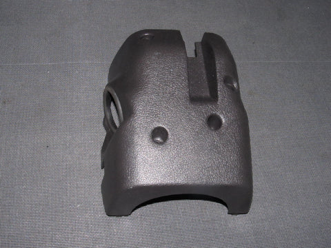 91-93 Dodge Stealth OEM Dark Gray Steering Column Cover - Lower Portion