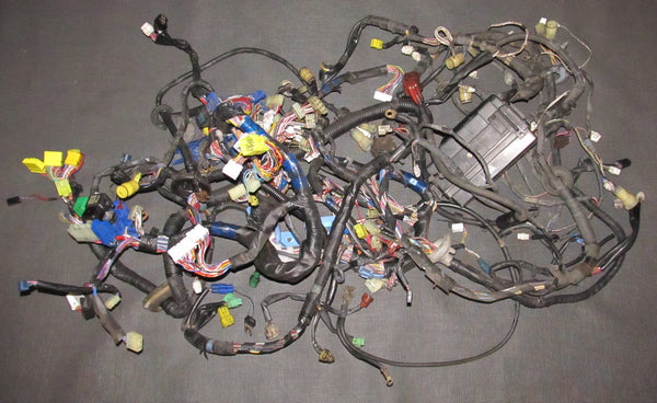 86 87 88 toyota supra oem turbo engine a/t wiring harness