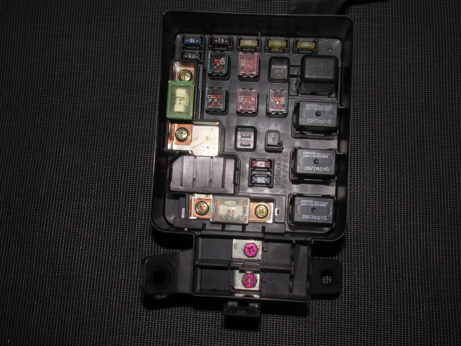 ... 96 97 98 99 00 Honda Civic OEM Engine Fuse Box