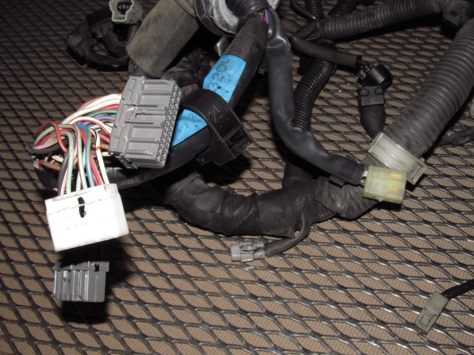91 92 93 94 95 Toyota Mr2 Oem 22l A T Engine Wiring Harness Connectors