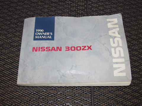 1990 Nissan 300zx OEM Factory Manual Book - Twin Turbo
